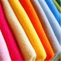 Boneca de pelúcia boneca de pano tecidos de flanela macia Super especial Pure color polar