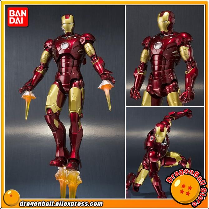 IronMan 100 Original BANDAI SPIRITS Tamashii Nations S H Figuarts SHF Action Figure Iron Man