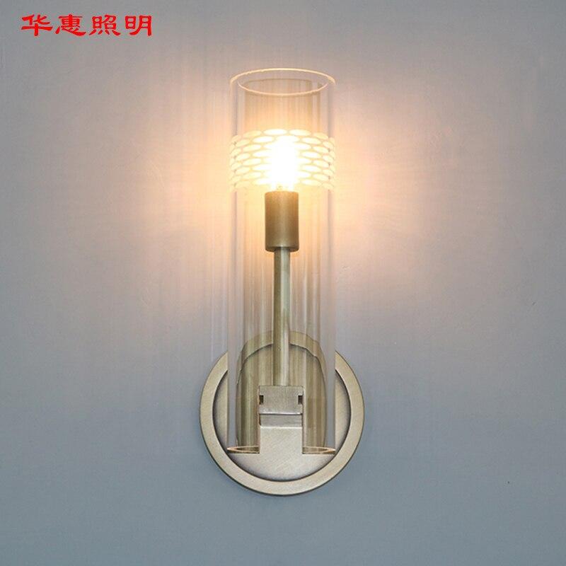 Retro RH K9 Crystal Shades G9 Wandlamp Amerikaanse Nachtkastje Blaker Verlichting Lustre Woonkamer Wandlamp - 5