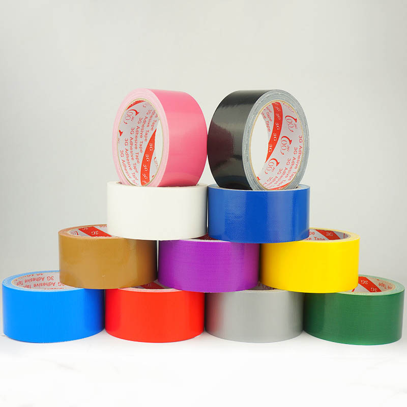 12 Color For Your Choice , Colored Duct Tape With Strong Adhesion , Duck Tape With Varies Colors