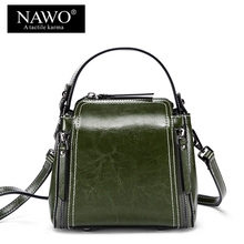 a6b1ab9384 NAWO Mini Leather Women Shoulder Bags Female Evening Crossbody Bag Designer  Ladies Messenger Bags Handbags Women