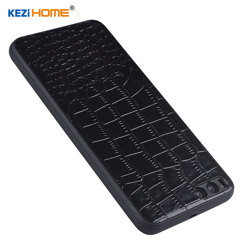 Case for Xiaomi Mi Note 3 KEZiHOME Luxury Crocodile texture Genuine leather back cover for Xiaomi Note 3 Prime 5.5'' Phone cases