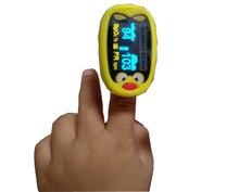 Li Battery Children Kids Finger Pulse Oximeter for Pediatric Child oximetro SPO2 PR Blood Oxygen Monitor Pulsoximeter spo2 sensor probe for contec pulse oximeter cms50f adult infant child pediatric oximetro