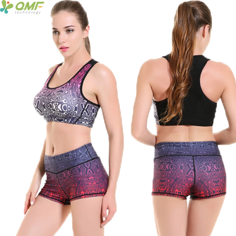 Aliexpress.com : Buy Abstract Pattern Sports Bra Yoga