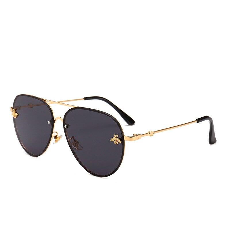 mimiyou 2018 Ovális Pilóta Női Napszemüveg Cool Bee Eyewear - Ruházati kiegészítők