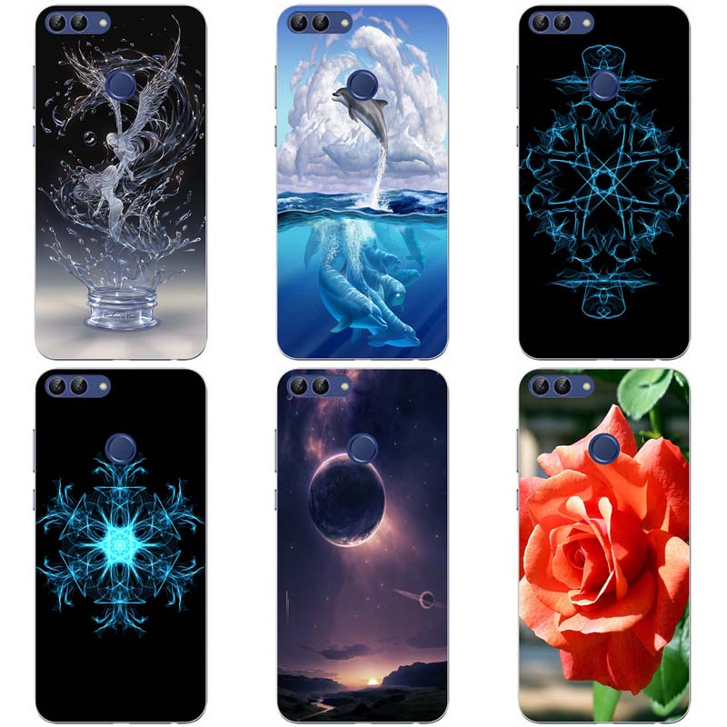 Soft Silicone Case For Infinix Hot 6 Pro X608 Cases flowers