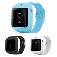 מיני USB שעון ספורט G-חיישן 2.0 ליבה כפולה 0.3MP מצלמה שיחת טלפון Bluetooth שעון חכם עם חריץ SIM TF כרטיס Smartwatch
