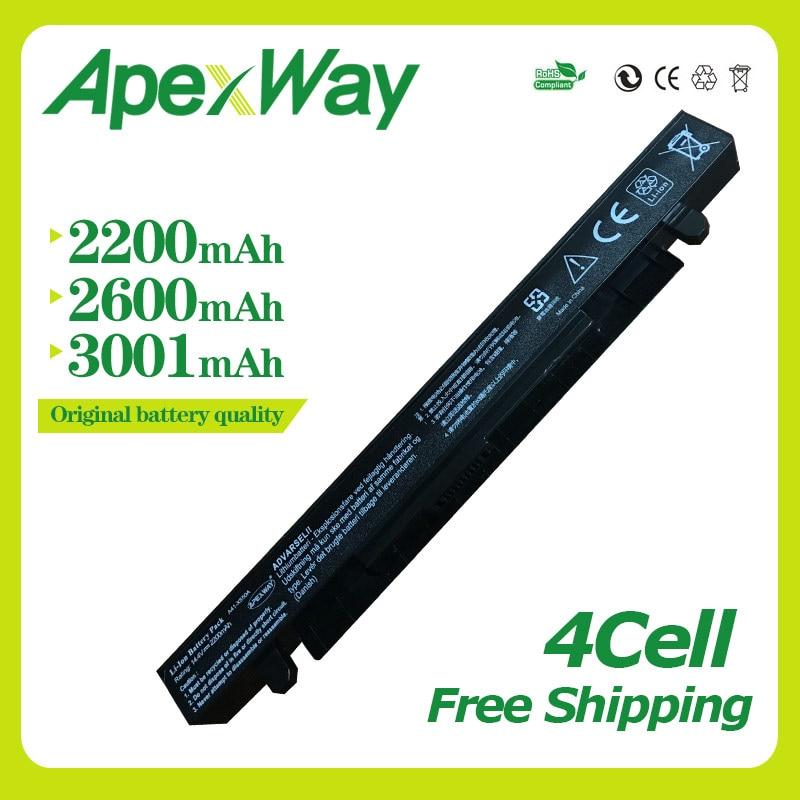 Apexway Battery for Asus A41-X550A  A450 A450L A550 A550C A550V F450 F450C F450V F550C F550V K450C  K550C P450 X450 X550 X550VApexway Battery for Asus A41-X550A  A450 A450L A550 A550C A550V F450 F450C F450V F550C F550V K450C  K550C P450 X450 X550 X550V