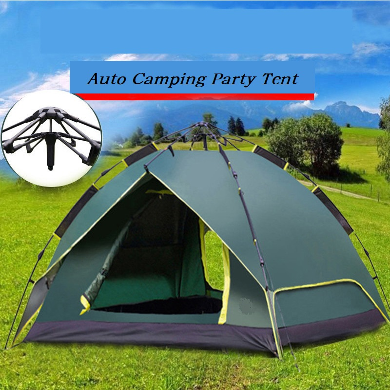 amason hot sale auto camping tent 3-4 person multi tent hot sale cayler