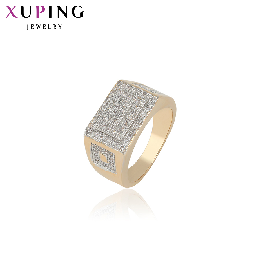 11.11 Deals Xuping Fashion Ring Synthetic CZ European Style Top Quality Rings Party Brand Jewelry Valentines Day Gift 12380