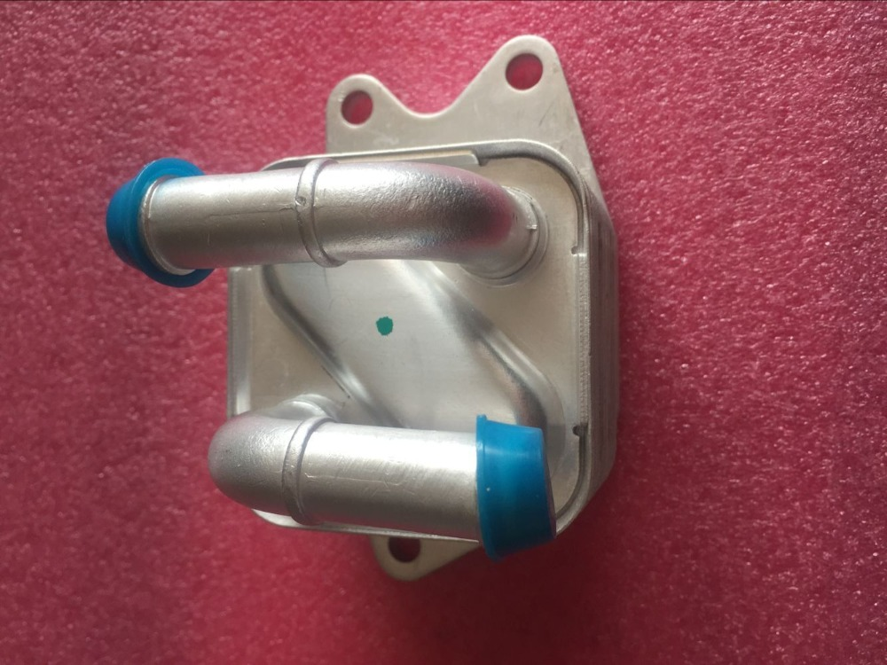ФОТО 09G409061B for SEAT SKODA Volkswagen VW POLO Saloon Transmission engine aluminum Oil Cooler 09G 409 061B OEM NO 09G 409 061 B