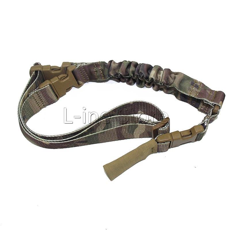 b30ab7a773 Multi-Funzione Tattica di Caccia Gun Sling Sistema Singolo 1 Point Pistola  Del Fucile Buggee Strap Sling