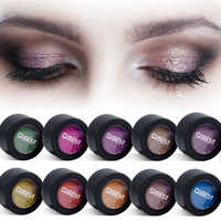 24 Colors Eye Shadow Easy to Wear Makeup Shimmer Pigment Single Color Green Purple Blue Red Cream Eyeshadow Palette Make Up