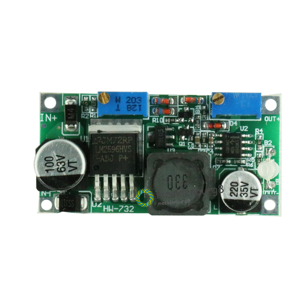 DC//DC LM2596 HV S 60V 3A Buck Constant Current//Voltage CC CV Step-Down Module K