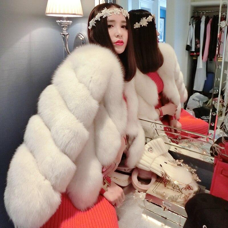 新しいコレクションヴィンテージ白い色リアルフォックス毛皮のコートやジャケット、ファッショナブルなリアルフォックス毛皮のコートの上着