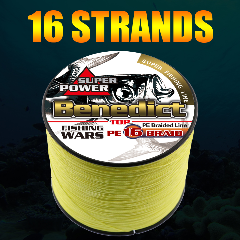 hollowcore braided line fishing 1000M saltwater 20 500LB super japan multifilament pe fishing cord heavy strength 0.16mm 2.0mm
