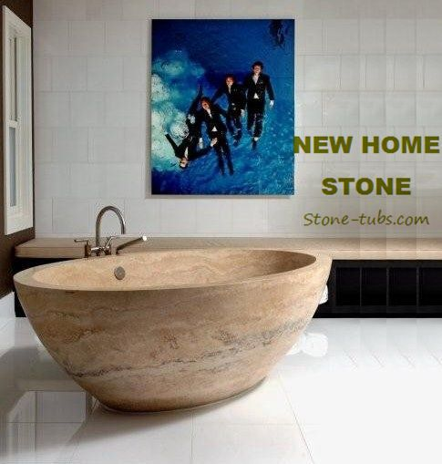 Feet Soaking Tub Natural Sandstone Hand Carved Round Small Bathtubs 2015  Popular Natural Matt Bath Tubs