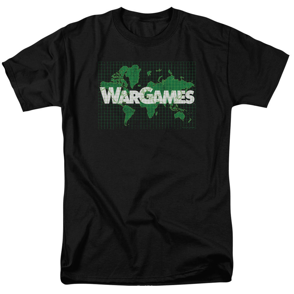 WarGames War Games Movie GAME BOARD Vintage Style T-Shirt All Sizes Short Sleeve 100% Cotton Man Tee Tops