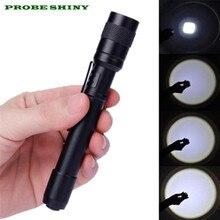 XPE-R3 LED 1200 Lumens Lamp Clip Mini Penlight Flashlight Torch AAA Free Shipping #NN17