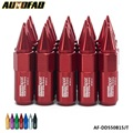 AUTOFAB- 20pcs Spiked Extended Tuner 60mm Lug Nuts Wheels / Rims M14X1.5 Aluminum AF-DD550B15JT