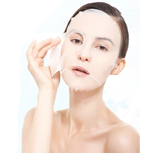 20pcs/pack Natural Cotton Compressed Mask Skin Care Whitening Moisturizing Face Mask Scar Removal Acne Treatment for Face Care