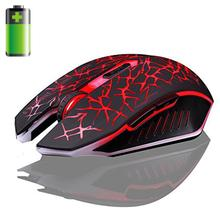 Malloom Mouse USB 2.4GHz Wireless 7D 2400DPI 6 Buttons Optical Gaming Mouse For CS High-End Player Gift #201