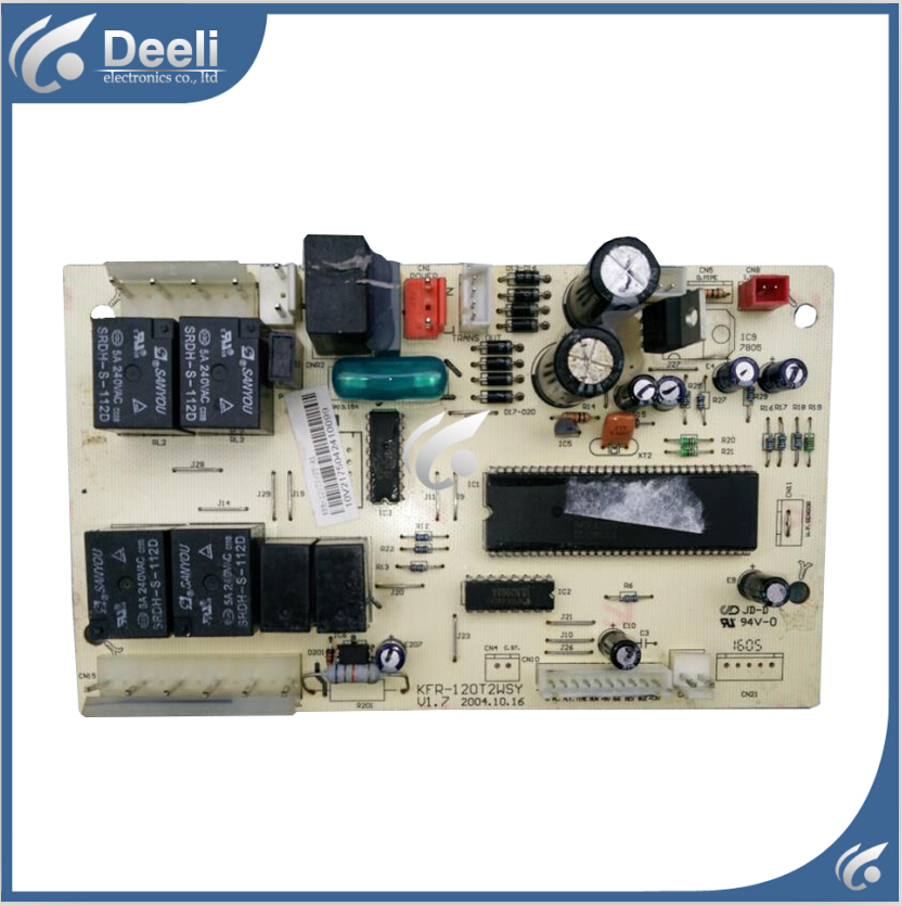 95% new Original for air conditioning computer board KFR-120T2WSY V1.7 board original for tcl air conditioning computer board used board