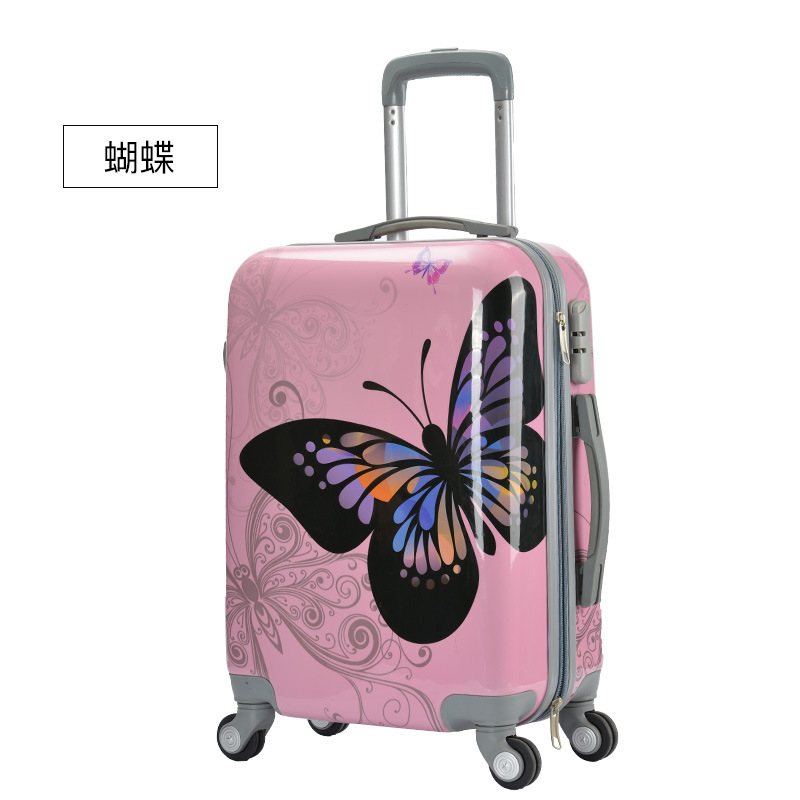 Exquisite trolley case,ABS+PC Universal wheel luggage,20boarding box,Waterproof student suitcase,Gift bag,Drop-proof valise  Exquisite trolley case,ABS+PC Universal wheel luggage,20boarding box,Waterproof student suitcase,Gift bag,Drop-proof valise