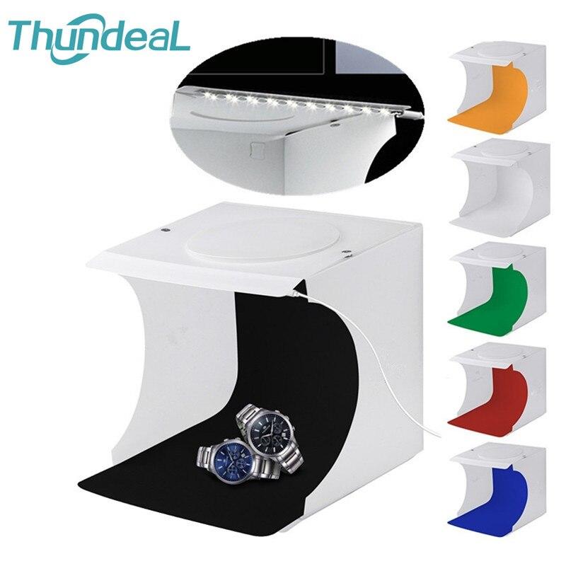 Cube-Box Light-Box Photo-Studio Photography Mini Backdrop Folding Thundeal 6-Colors