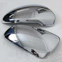 Exterior Side Rearview Mirror Glass Cover Full Trim Protector For 2015 16 Tucson