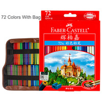 Faber Castell Lapices 72 Oil Based Colored Pencil Lapis De Cor Professional Coloring Pencils Pack Drawing