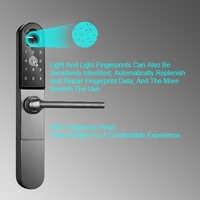 Eseye APP cerradura de la puerta cerradura de la huella Digital cerradura electrónica de puerta Anti-ladrón de seguridad para la casa de la familia