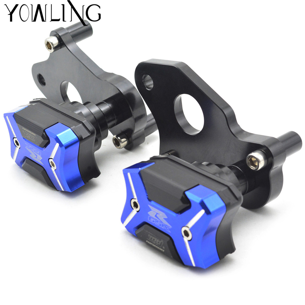 For Suzuki GSXR GSXR 600 750 R GSXR600/750 2006-2010 Motorcycle Accessories CNC Frame Sliders Pad Cover Falling Protector Guard engine guard cover for suzuki gsxr 600 750 gsx r gsxr600 motorcycle cnc aluminum frame slider protector crash falling protection page 6