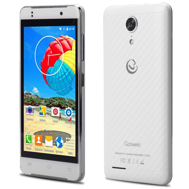 Gooweel M9 MINI+ 4.5 inch Android 5.1 3G Smartphone MTK6580 Quad Core 1.3GHz 5MP 1GB RAM 8GB ROM Bluetooth 4.0 Mobile Cellphone