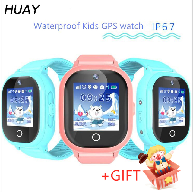 kids GPS tracker watch TD06S IP67 waterproof swimming camera Watch touch Screen SOS Call Location children Smart Watch TD06S