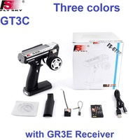 FlySky GT3C FS GT3C 2.4GHz 3 Channel Transmitter with GR3E Receiver For RC Cars Boat