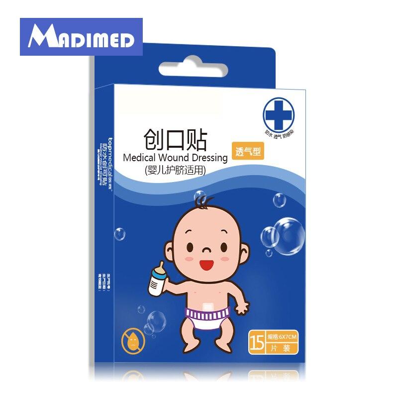 MADIMED Medical Wound Dressing Baby Nurse Waterproof Self