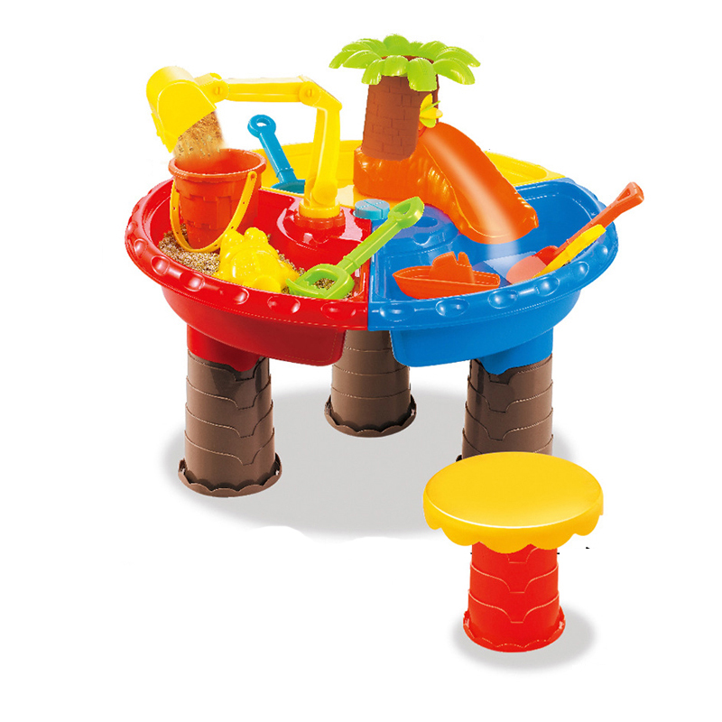 Cartoon Children Beach Toys Classic Water Toys Playing Sand Tools Set Multiplayer Summer Water Beach Outdoor Toy Christmas Gifts