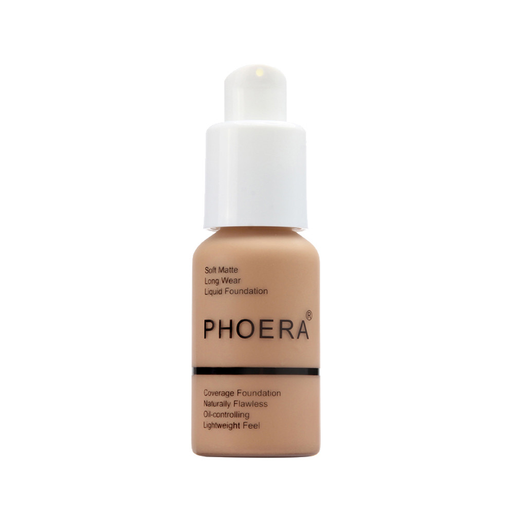 PHOERA Full Coverage Liquid Foundation 5