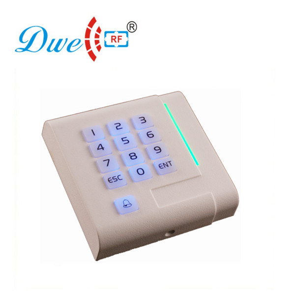 DWE CC RF access control card reader white plastic keypad contactless wiegand control readers цена и фото