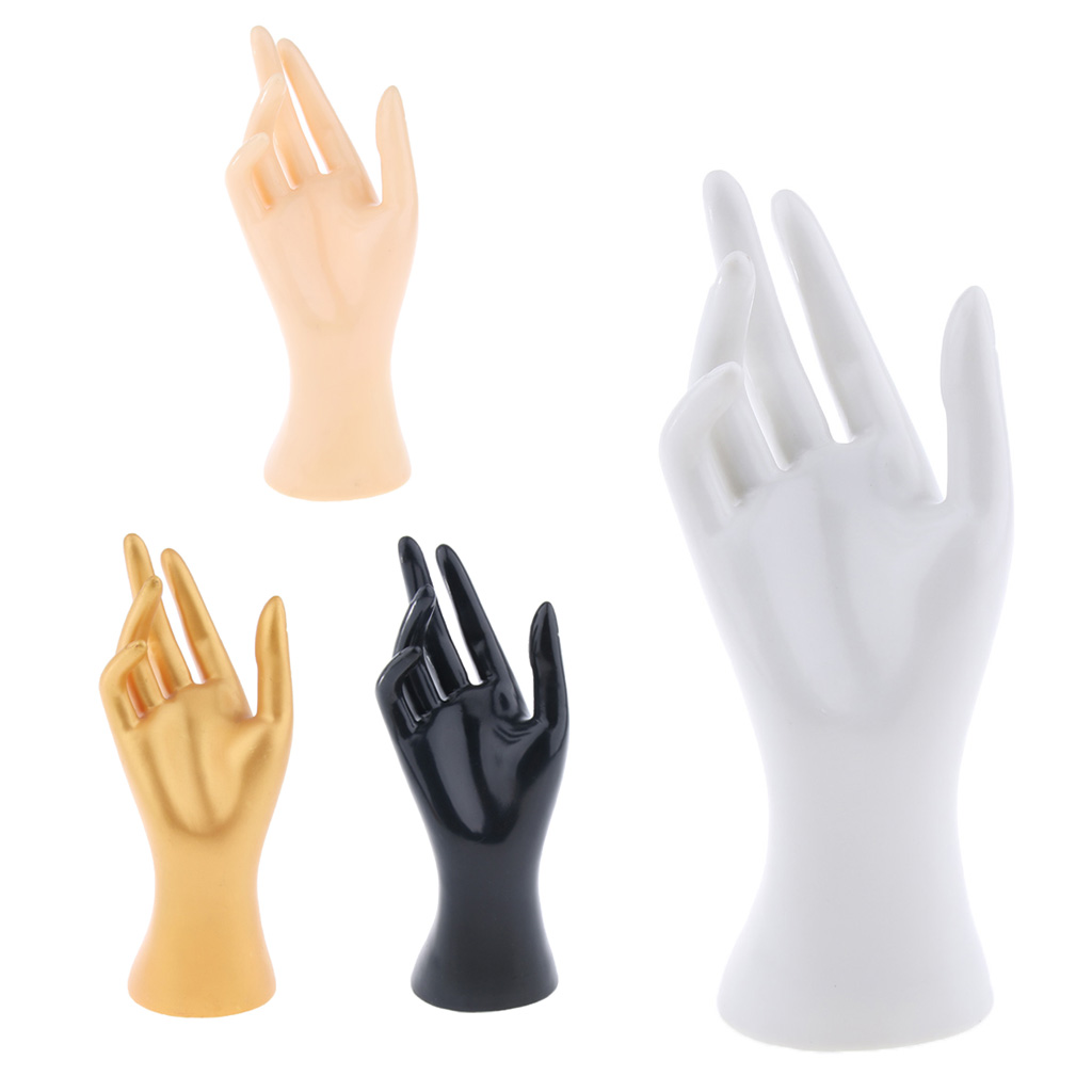 Female Mannequin Hand Jewelry Bracelet Ring Watch Gloves Display Stand Model for Shopping Mall Jewelry Store Home