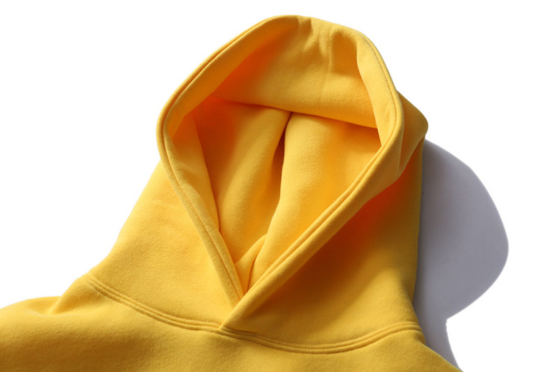 Color Block Patchwork Fleece Hoodies 6