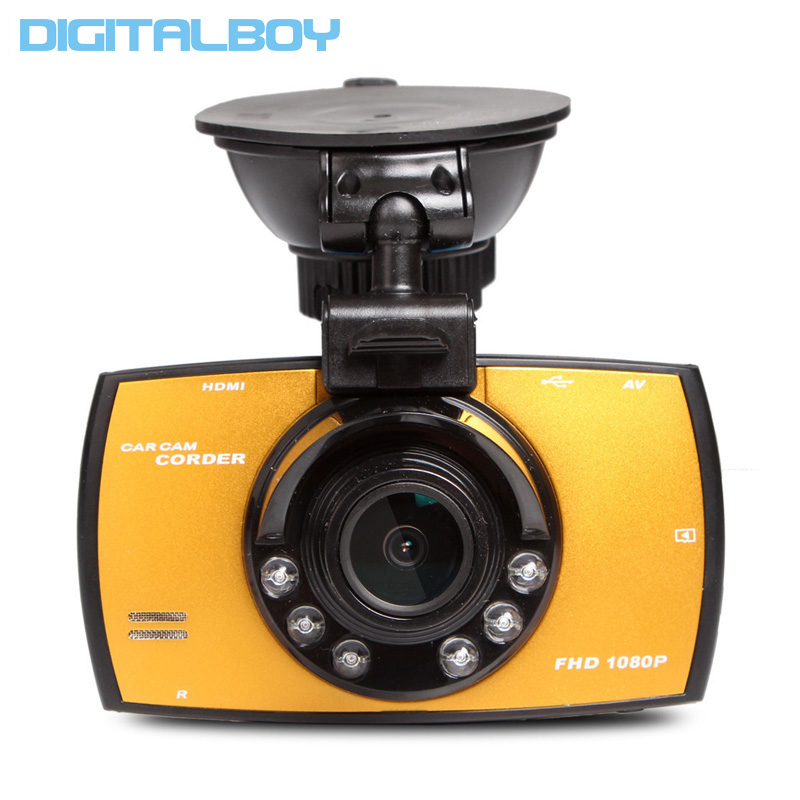 Dash Cam Full HD 1080P 2 7 Car Dvrs G30 Novatek NT96220 Car Camera Recorder With