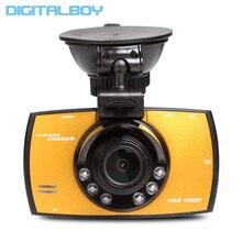 Даш Cam Full HD 1080 P 2.7 «автомобильные Видеорегистраторы G30 Новатэк NT96220 Автомобиль Camera Recorder С Детектором движения Ночного Видения G-Sensor Автомобильный Видеорегистратор