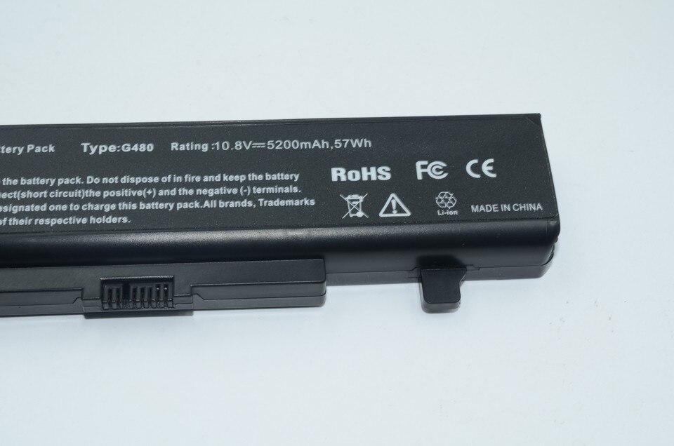 JIGU 6 ячеек ноутбук Батарея для LENOVO G580 Z380 Z380AM Y480 G480 V480 Y580 G580AM L11S6Y01 L11L6Y01
