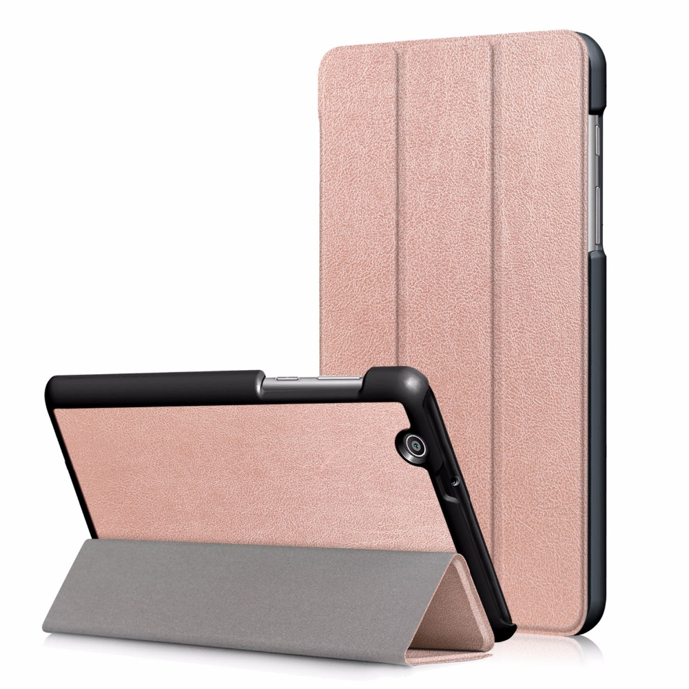 PU Leather Case for Huawei MediaPad T3 7 3G BG2-U01 2017 Release New Tablet Ultra Slim Flip Stand Smart Cover + Gift flip left and right stand pu leather case cover for blu vivo air