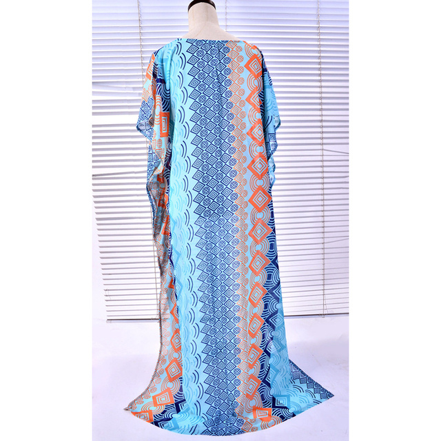 Beach Tunic Cover Up On Swimsuit 2018 Dress Cape Robe De Plage Women Sarong New Snow Spun Dress Robe Print Acetate Sierra Surfer