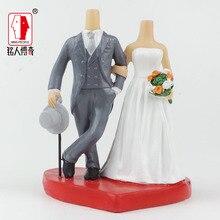 Wedding Cake Topper wedding gift custom avatar personality custom real doll custom clay dolls fixed resin body SR203