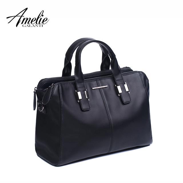 AMELIE GALANTI Fashion Brand Women Handbag pillow solid zipper soft casual top-handle bag high quality vintage 3 colors 2017
