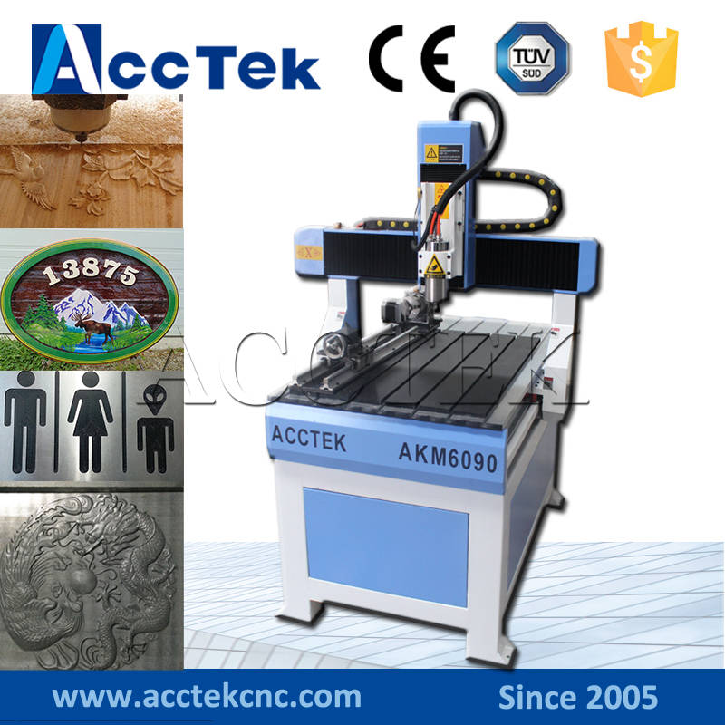 China Cheap Hot Sale 6090 2x3 Feet Small Cnc Router For Aluminum Wood Stone Copper Acrylic Dibond